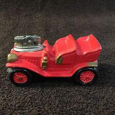 Vintage Red Car Cigarette/Cigar Lighter Sparks Ceramic