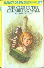 *Nancy Drew - Nancy Drew # 22 The Clue In The Crumbling Wall Carolyn Keene Book