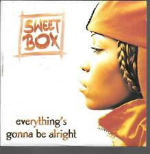 CD SINGLE 2 TITRES--SWEET BOX--EVERYTHING'S GONNA BE ALRIGHT--1997
