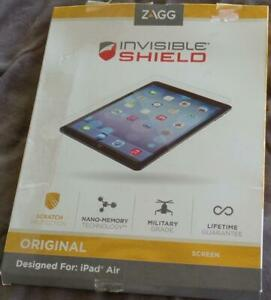 Zagg Invisible Shield - Apple iPad Air - BRAND NEW IN PACKAGE - ORIGINAL