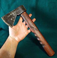 "Antique Blacksmith Made Axe Ax Hatchet Farm Tool Marked "" Jaguar Portugal """