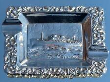 ROTTERDAM LLOYD MS WILLEM RUYS ACHILLE LAURO QUALITY ASHTRAY PURCHASED ONBOARD