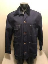 Vintage Wrangler Blue Bell Blanket Lined Sanforized Chore Barn Jacket Mens 44