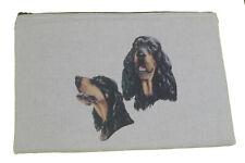 More details for gordon setter breed of dog padded fabric universal tablet case - make up bag