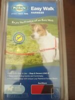 🐶PetSafe Easy Walk Harness - Black/red Size Small {Brand New}🐶