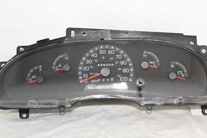 Speedometer Instrument Cluster 00 01 Ford E150/E250/E350/E450 Dash 229,258 Mile