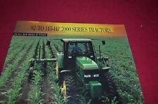 John Deere 7200 7400 7600 7700 7800 Tractor Dealer's Brochure Amil8