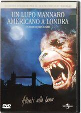 Dvd Un Lupo Mannaro Americano a Londra - Ed. Speciale 20° Anniversario Usato