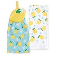 Lemon Tie Top Kitchen Towel 2 Pack by Kohls Celebrate Spring Together