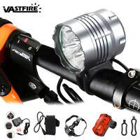 5X XM-L T6 20000Lm LED Cycling Bicycle Head Bike Torch HeadLamp Light Headlight