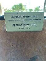 Chevrolet Task Force Trucks Powell Chevrolet Co. Gatesville TX Clipboard