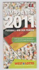 Orig.PRG / Guide / Spielplan    Frauen WM DEUTSCHLAND 2011  !!  SEHR SELTEN