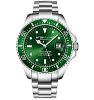 *BNIB* Mens Stuhrling Professional Pro-Sport Divers Green Hulk Watch *HOT*