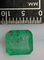 1.75 Carat 7.8x7.3mm Nice EMERALD Gemstone (#L4604)