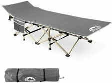 Camping Cot, 450LBS(Max Load), Portable Foldable Outdoor Bed with Carry Bag