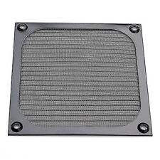 120mm PC Computer Fan Cooling Dustproof Dust Filter Case Aluminum Grill Guard Wd