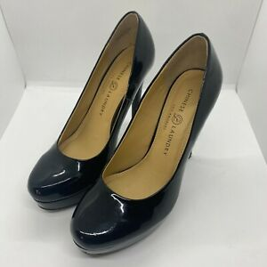 """Chinese Laundry Los Angeles womens 5"""" heels-black-size 8.5 GUC"""