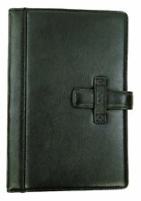 BODHI Italian Leather Kindle Book Jacket Cover Black