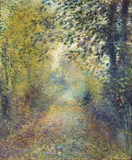 Auguste Renoir In the Woods Giclee Canvas Print Paintings Poster Reproduction Co