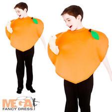 Smiffy/'S CHILDS Apple o Peach Tabard FRUTTA sana Libro Giorno Costume