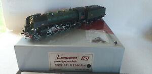 SNCF LEMACO LOCO VAPEUR 141 R 1244 FUEL HO-DC N° HO-036