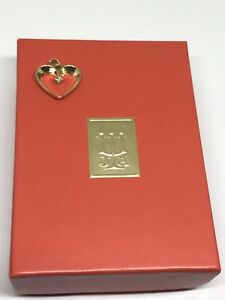 James Avery Heart with Diamond  Charm 14Kt  9/16 (Bail Cut) **RETIRED**