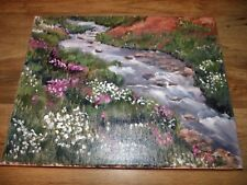 Original Ingrid Coulter oil on canvas painting Waterfall Meadow *Worldwide*
