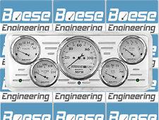 40 41 42 44 45 46 47 Ford Truck Billet Aluminum Gauge Panel Instrument Cluster