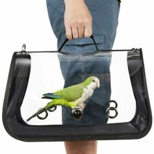 Bird Travel Carrier Transport Cage Breathable Parrot Go Out Backpack Outerdoor