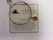 Authentic Alex and Ani Precious Crystal Color Therapy, Energy Goldfill NWT