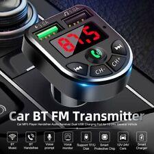 Auto Bluetooth FM Transmitter MP3 Player KFZ Dual USB SD AUX Freisprechanlage