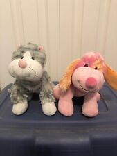 Webkinz sterling cheeky cat and pink punch cheeky dog no code
