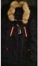 Unbranded Faux Fur Parkas Coats & Jackets for Men