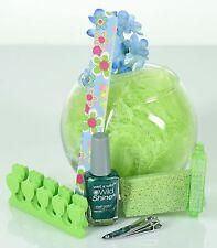 Luxurious Nail Spa Bowl-  Shades of Green Nail Tools, Nail Polish, Women, Girls