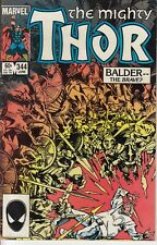 Marvel Comics Thor #344, First Appearance Malekith, Fine condition!