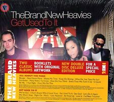 THE BRAND NEW HEAVIES - ALL ABOUT THE FUNK/GET USED TO IT - 2 CD (NUOVO)DIGIPACK