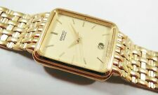 Seiko SGC042 Gold Tone Base Metal 7N22-5A38 Sample Watch NON-WORKING