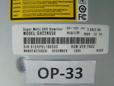 LG gh22ns50 MASTERIZZATORE DVD Unità PC COMPUTER #op-33