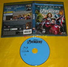MARVEL'S THE AVENGERS (Robert Downey Jr.) - Blu Ray BluRay ••••• USATO