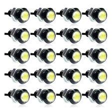 20pcs Car Eagle Eye LED Daytime Running DRL Tail Backup Light 3W White Wholesale