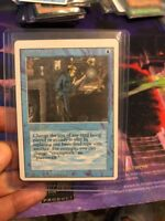MTG Magical Hack Revised 3rd Edition NM BLUE MISCUT  Magic the Gathering