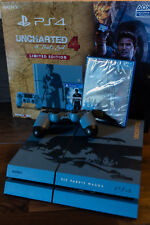 Playstation 4 PS4 1TB Uncharted 4 Limited Edition Konsole Firmware 4.55! Wie Neu