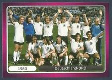 PANINI EURO 2012- #523-CHAMPIONSHIP WINNERS-1980-DEUTSCHLAND-BRD-WEST GERMANY