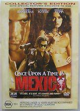 ONCE UPON A TIME IN MEXICO (2003) DVD MOVIE Antonio Banderas, Salma Hayek
