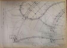 1964 Nyc World'S Fair Composite Utilities Plan U-9 Blueprint Queens Ny