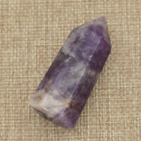 Natural Amethyst Hexagonal Prism Crystal Stone Healing Wand Point 4-5cm