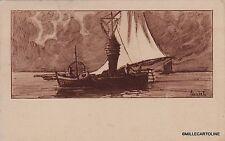 """# COLOMBO: """"PESCHERECCIO"""" viaggiata da MIASINO (NO) a RIVARA (TO)  1924"""