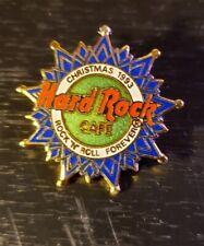"Hard Rock Café Blue & Green Snowflake - ""Rock 'n' Roll Forever"" (#3405) - 1993"