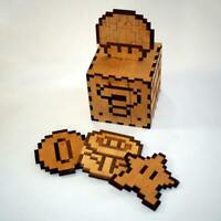 Mario Bros. 8 Bit Coasters for the bar drinks and barware.