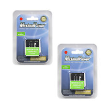 TWO BATTERIES for Nikon EN-EL19 Coolpix S100 S2500 S3300 S4100 S4300 BATTERY X 2